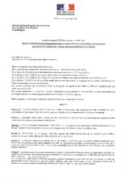 Arrêté préfectoral cadre du 15-11-2016